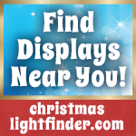 Find displays near you - christmaslightfinder.com