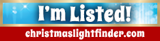 I'm Listed - christmaslightfinder.com