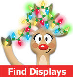 Find holiday light displays near you